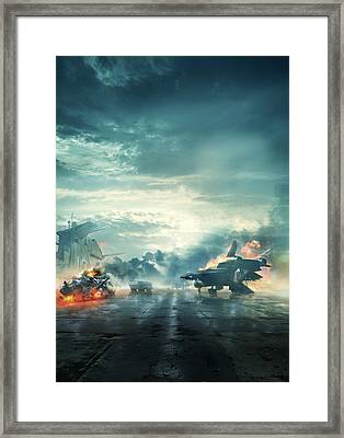 Captain America The First Avenger 2011 Framed Print by Unknown