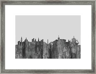 Cardiff  Wales Skyline Framed Print
