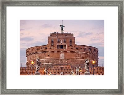 Castel Sant'angelo Framed Print by Andre Goncalves