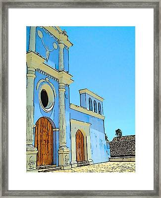 Central America Nicaragua Framed Print