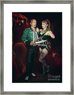 Circus Performers Framed Print