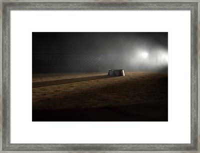 Circus Ring And Podium  Framed Print by Allan Swart
