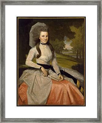 Clarissa Seymour Framed Print by Ralph Earl