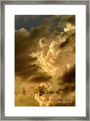 Clouds At Sunset Framed Print by Thomas R Fletcher