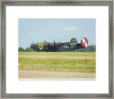 Consolidated B-24j Liberator Framed Print
