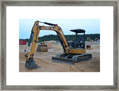 3 - Construction Equipment Series Framed Print by Matt Plyler