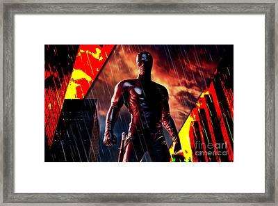 Daredevil Collection Framed Print