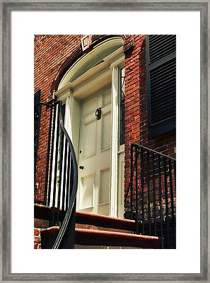 Davenport House Welcome Framed Print by JAMART Photography