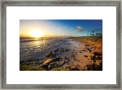 3 Degrees Below The Sun Framed Print