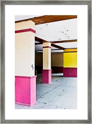 Derelict Building Framed Print