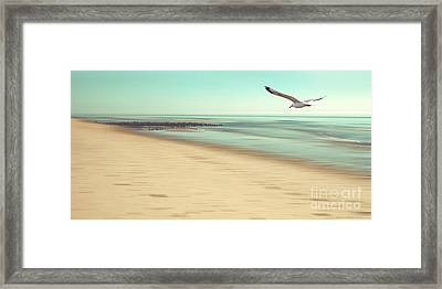 Framed Print featuring the photograph Desire Light Vintage by Hannes Cmarits