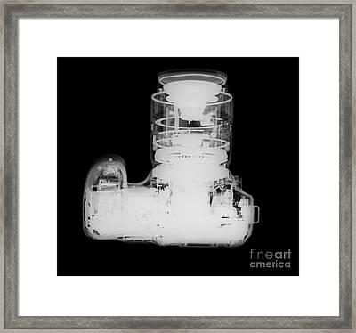 Digital Camera X-ray Framed Print
