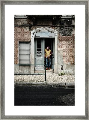 Door No 7 Framed Print by Marco Oliveira