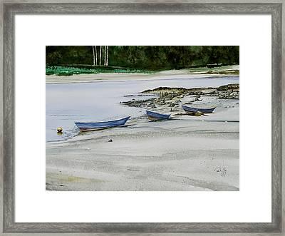 3 Dories Kennebunkport Framed Print