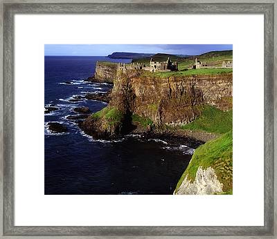 Dunluce Castle, Co. Antrim, Ireland Framed Print by The Irish Image Collection