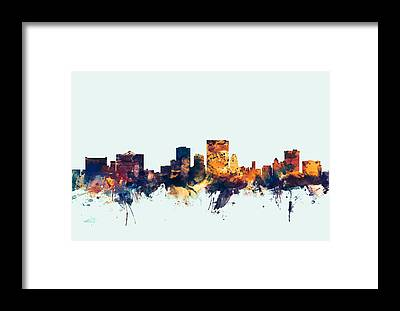 El Paso Framed Prints