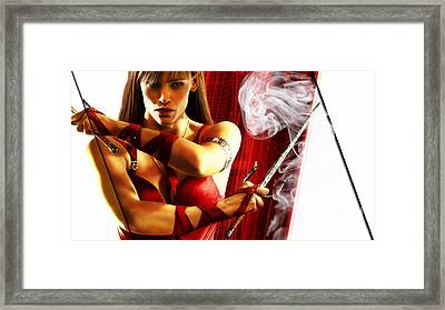 Elektra Collection Framed Print by Marvin Blaine
