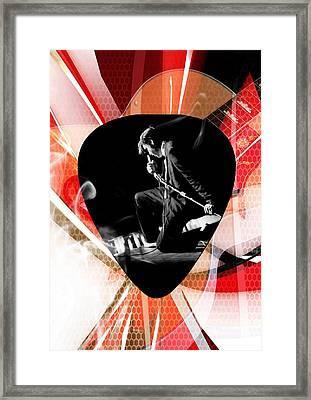 Elvis Presley Art Framed Print by Marvin Blaine