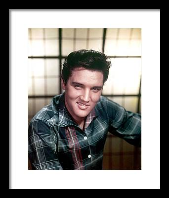 Elvis Presley Framed Prints