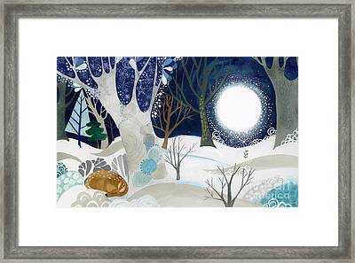 Enid Spring Book Art Framed Print by Kate Cosgrove
