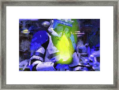 Execute Order 66 Blue Team Commander - Camille Style Framed Print