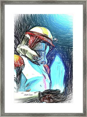 Execute Order 66 - Sketch Style Framed Print