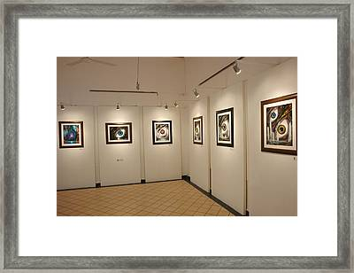 Exhibition Cozumel Museum Framed Print by Angel Ortiz