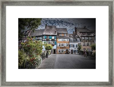 Fairytale Alsace Framed Print by Sandra Rugina