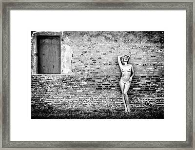Framed Print featuring the photograph Faith by Traven Milovich