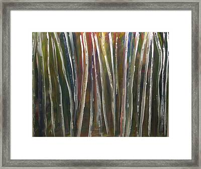 Fantasy Forest Series Framed Print by Dolores  Deal