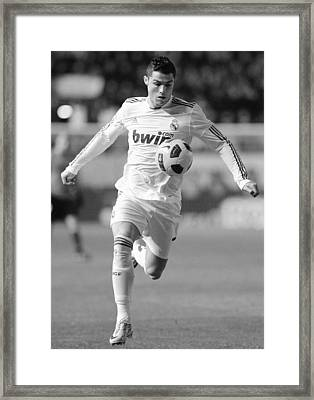 Cristiano Ronaldo 26 Framed Print