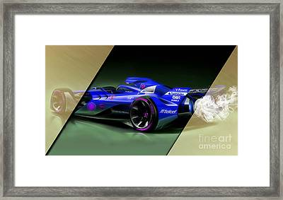 Ferrari F1 Collection Framed Print by Marvin Blaine