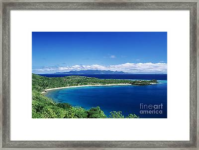 Fiji Wakaya Island Framed Print by Larry Dale Gordon - Printscapes