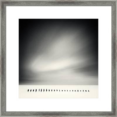 Fist Framed Print by Dmitry Dykin