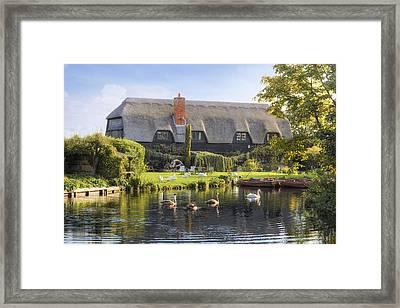 Flatford - England Framed Print by Joana Kruse