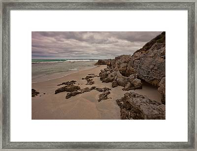 Flour Cask Bay Kangaroo Island Framed Print