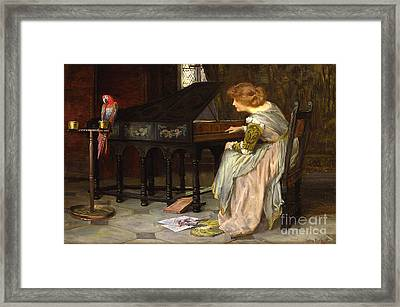 Francis Sydney Muschamp Framed Print by MotionAge Designs