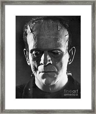 Frankenstein, 1931 Framed Print by Granger