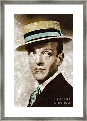 Fred Astaire Hollywood Legend Framed Print