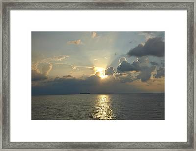 From The Ship Framed Print by Cendrine Marrouat