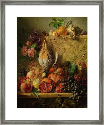 Fruit, Flowers And Game Framed Print