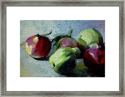 Fruits Framed Print by George Siaba