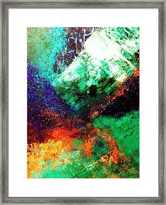 Gaia Symphony Framed Print