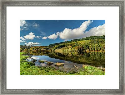 Geirionydd Lake Framed Print by Adrian Evans