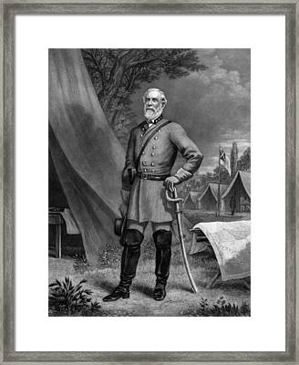 General Robert E Lee Framed Print