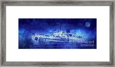 Ghost Ship Framed Print