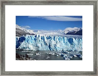 Glacier Framed Print by FL collection