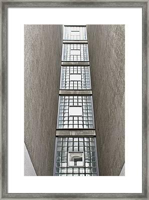Glass Tiles Framed Print by Tom Gowanlock