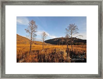 Glen Torridon Framed Print