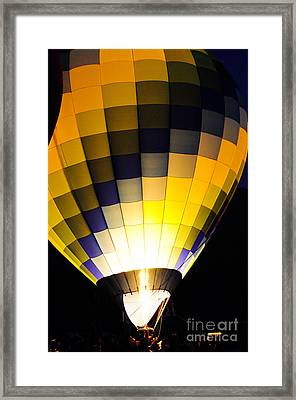 Glowing Framed Print by Clayton Bruster